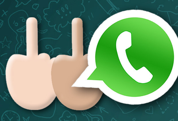 Whatsapp A Orta Parmak Emojisi Geldi Cepkolik Com