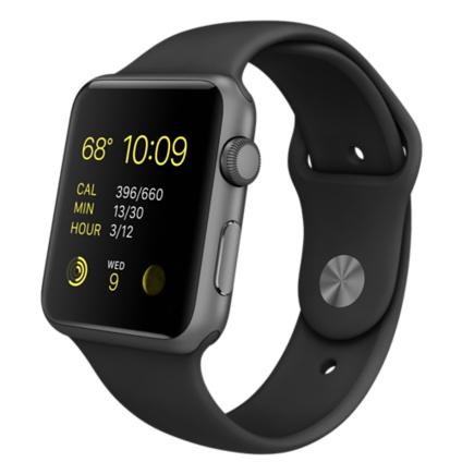 Apple Watch Sport 42mm mat siyah