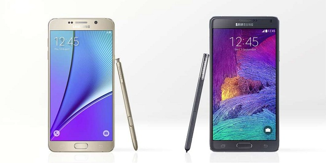Samsung-Galaxy-Note-5-vs-Note-4 farklar