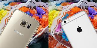 samsung galaxy s6 vs iphone 6s kamera karşılaştırması