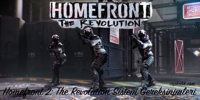 Homefront 2: The Revolution