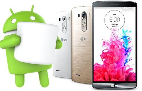 LG G3 İçin Marshmallow Çok Yakında