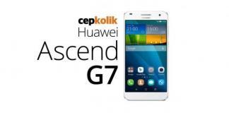 ascend g7 incelemesi