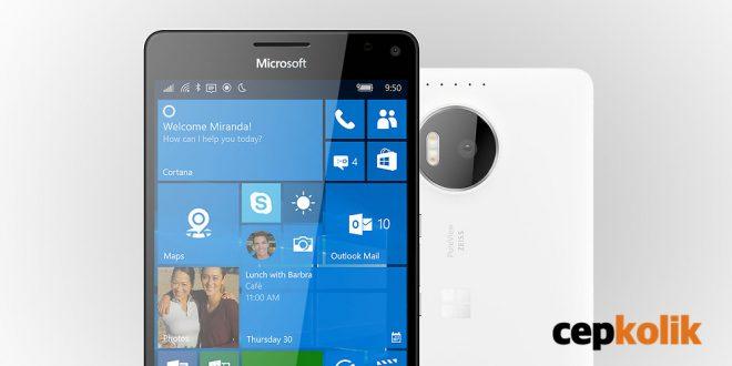 lumia 950 xl tasarım