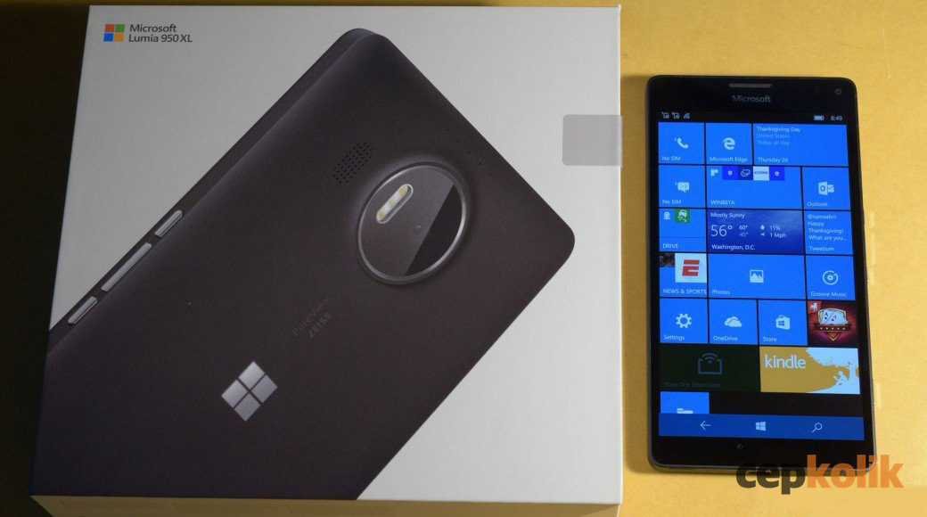 lumia 950 xl kutu