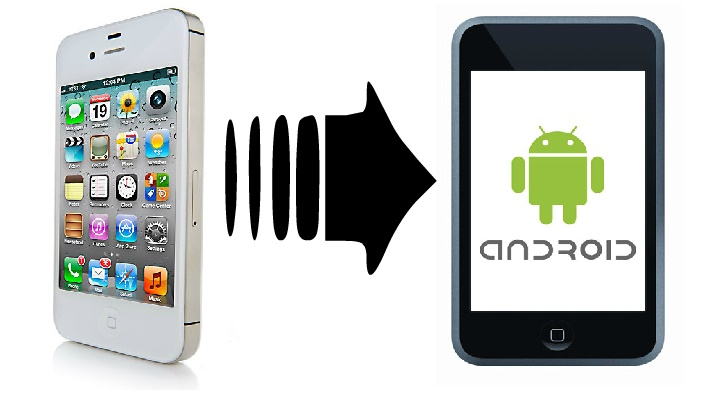 Apple İOS to Andtoid