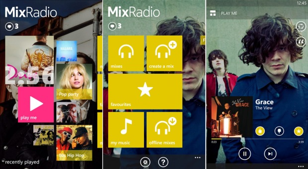 MixRadio_Screens