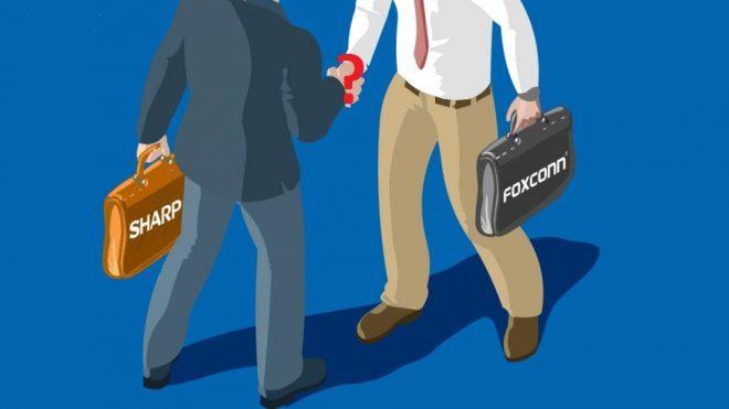 Sharp ile Foxconn anlaşmasında sürpriz ERTELEME!