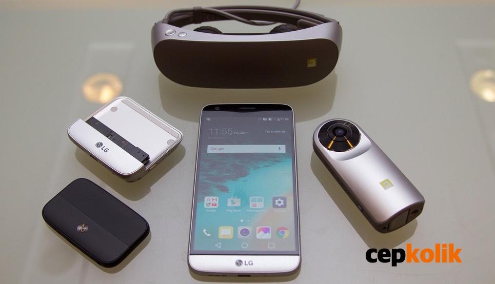 LG G5 yeni