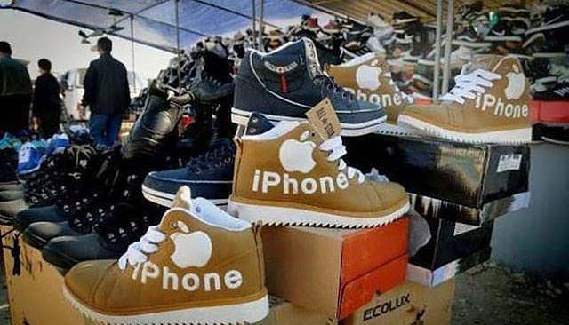 iphone ayakkabı