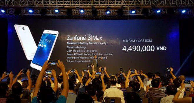 zenfone 3 max press event