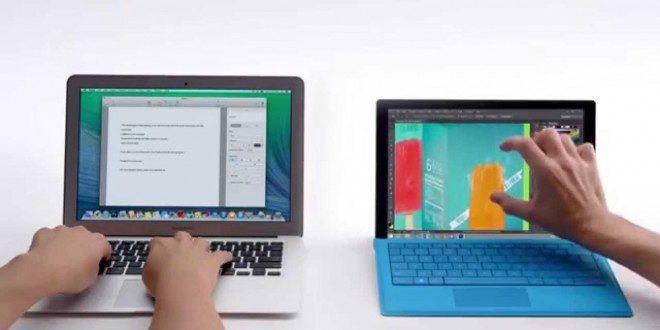 Microsoft, MacBook ile Dalga Geçmeye Çalışıyor!