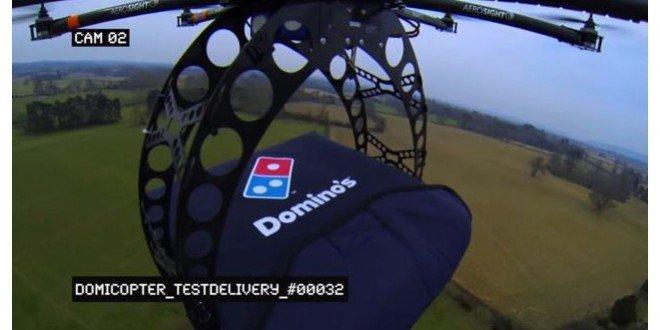 Pizzalar Uçarak Geliyor!