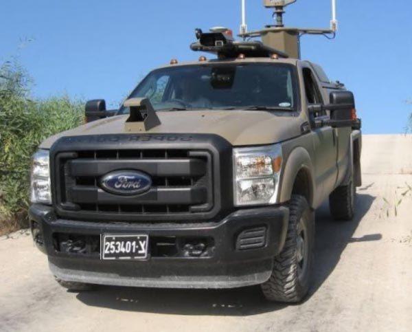 İsrail Sürücüsüz Araçlarla Savaşacak!
