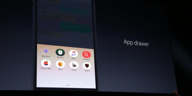 iOS 10 ile Beraber Yeni iMessage!