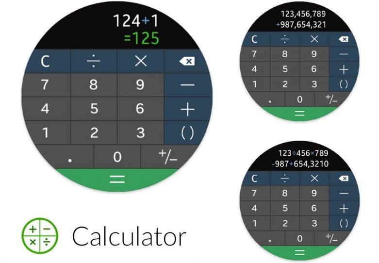 Calculator Gear S3