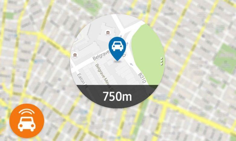 Find My Car uygulaması