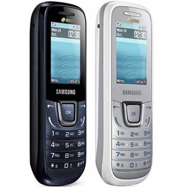 Samsung GT-1282 Duos tuşlu çift hatlı