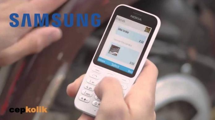 samsung tuşlu telefonlar
