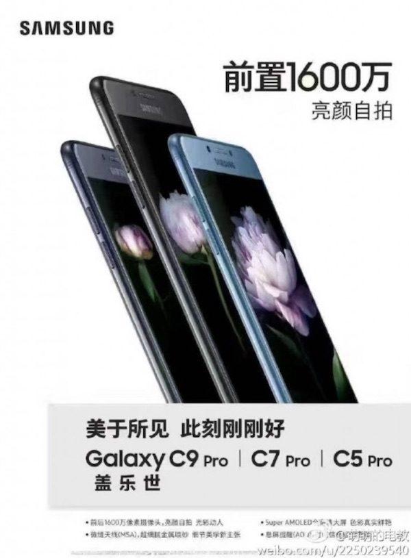 Galaxy C5 Pro ve Galaxy C7 Pro Görüntüleri Sızdı!