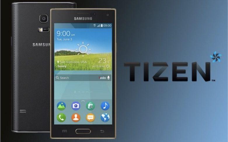Samsung Tizen telefon