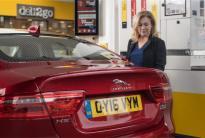 Jaguar, Shell Benzin-4