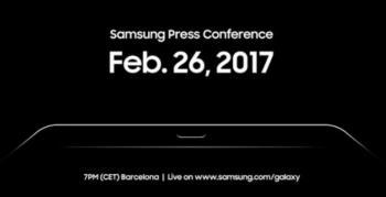 MWC'deki Samsung etkinliği YouTube'da Canlı Yayınlanıyor!
