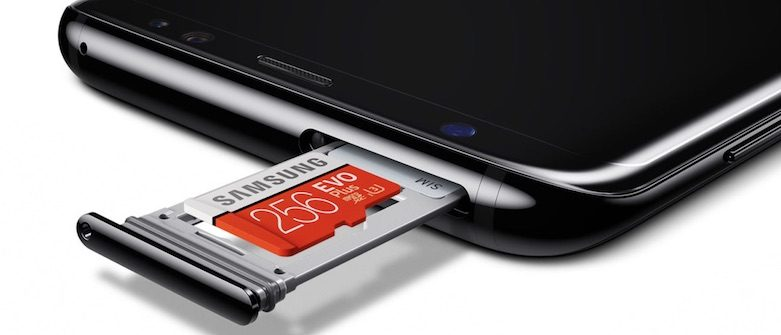 Galaxy S8 sd kart - cepkolik