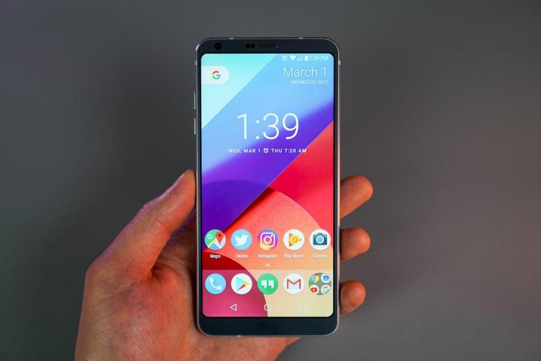 LG G6 Yüz Tanıma