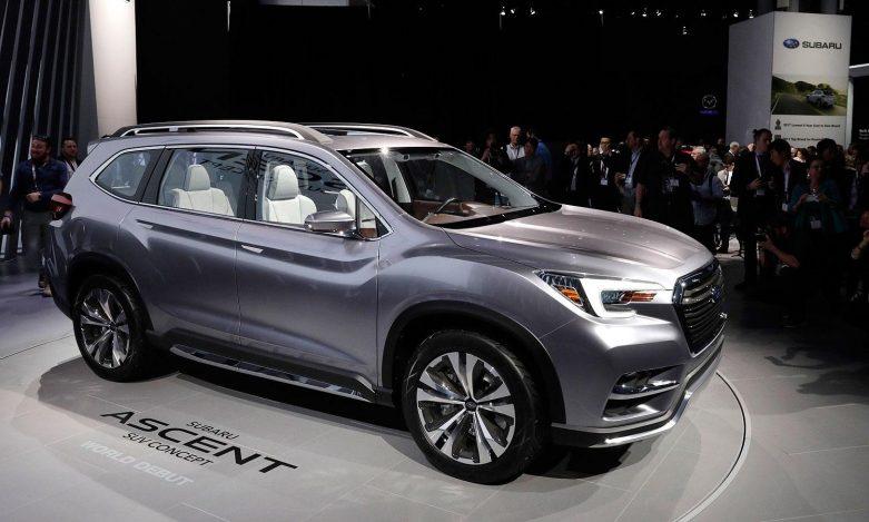 7 Kişilik Yeni Konsept Suv Serisi Subaru Ascent Tanıtıldı