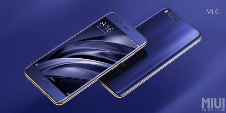 Xiaomi Mi 6 telefon