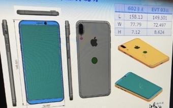 Beklenen iPhone 8 Şemaları LG G6'ya Çok Benziyor!