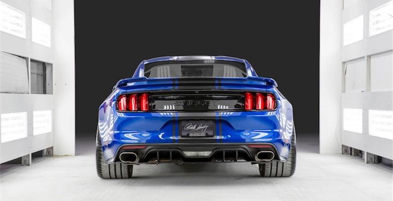 2017 Mustang Shelby Super Snake 750 Beygir ile geliyor