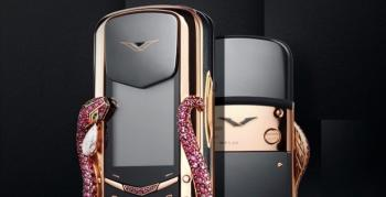 Vertu, 360.000 USD değerindeki Signature Cobra telefonunu duyurdu