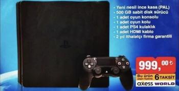 Bim'den uygun fiyata PS4 Slim!