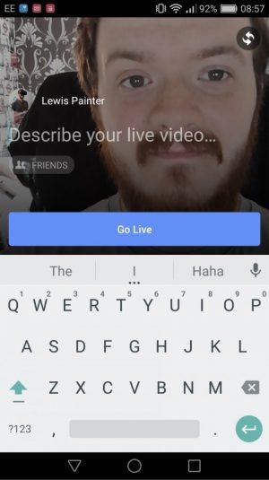 iPhone ve Android'de Facebook'ta Canlı Yayın Nasıl Yapılır?