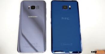 Samsung Galaxy S8 vs HTC U11 detaylı karşılaştırma