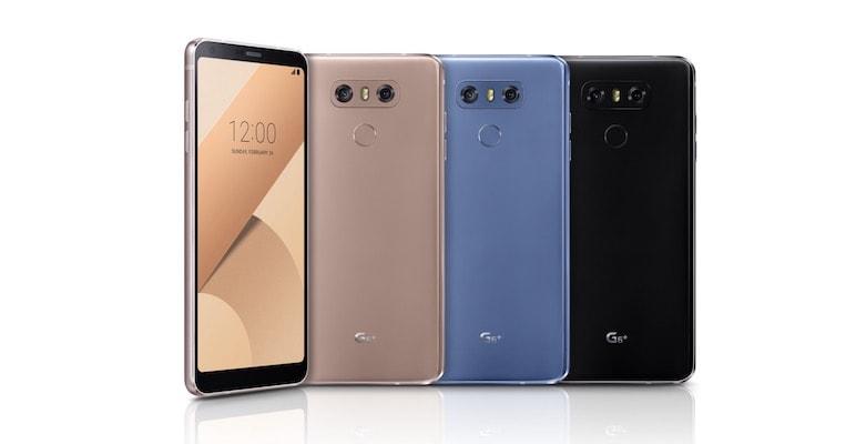 LG G6 Plus modeli tanıtıldı, işte özellikleri