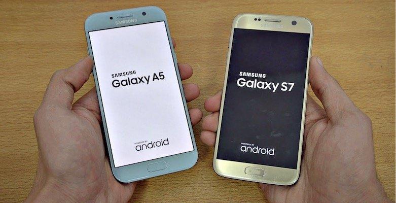 گوشیهای A5, Galaxy S7 و (A3 (2017 سامسونگ در صف دریافت اندروید 8