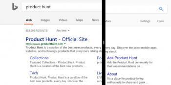 Microsoft, Google Arama'dan İlham Aldığı Yeni Bing Dizaynını Test Ediyor