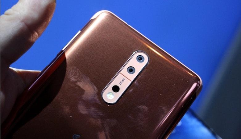 Nokia 8 kamerasi
