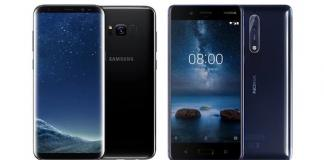 Nokia 8 vs Galaxy S8