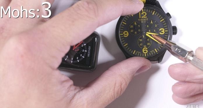 Apple watch dayaniklilik testi