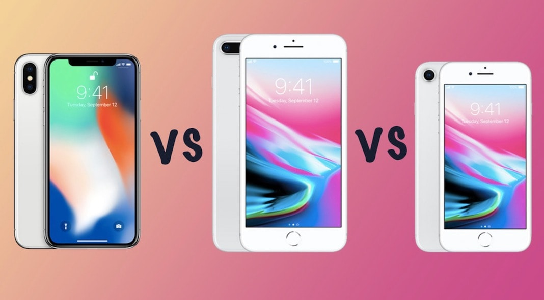 iPhone X, iPhone 8 ve iPhone 8 Plus Arasindaki Farklar