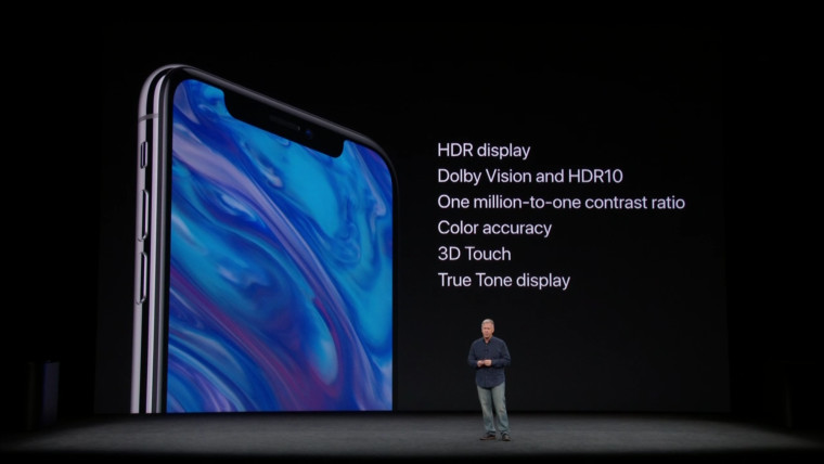 iphone x hdr display