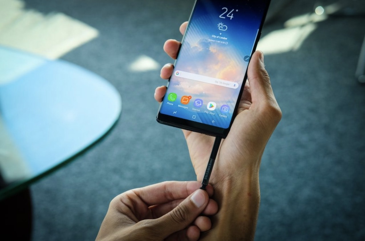 Galaxy Note 8 spen
