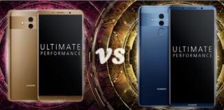 Huawei Mate 10 vs Mate 10 Pro Ekran