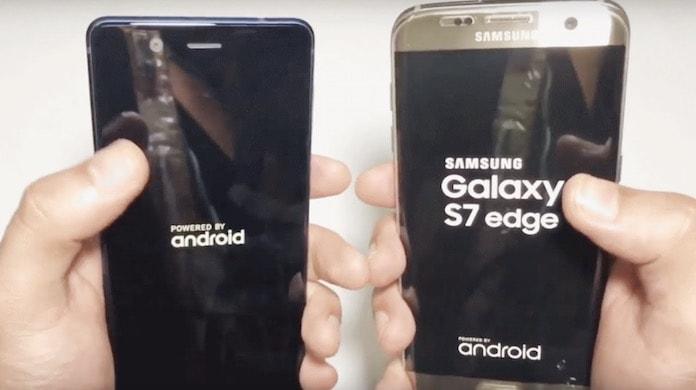 Nokia 5 and Samsung Galaxy S7