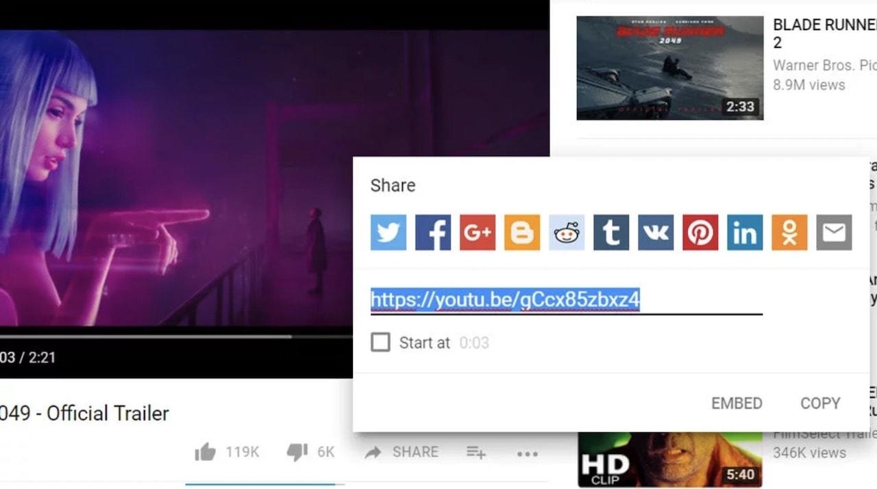 youtube video ekleme embed