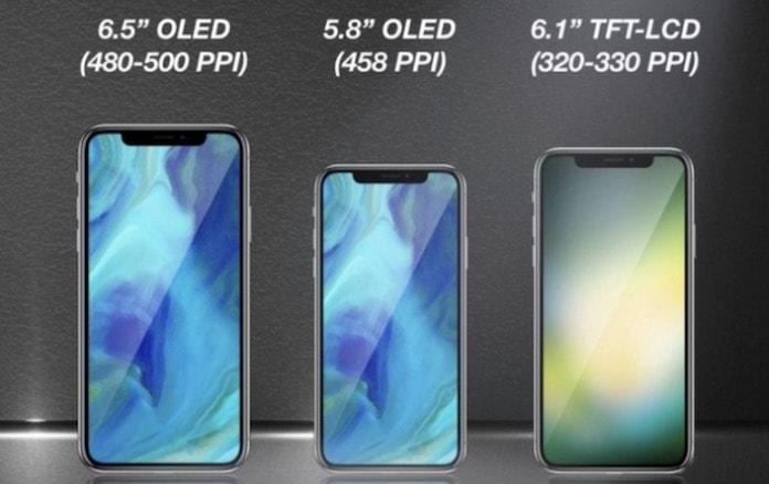 Apple, gelecek yıl üç yeni iPhone X benzeri cihaz üretecek